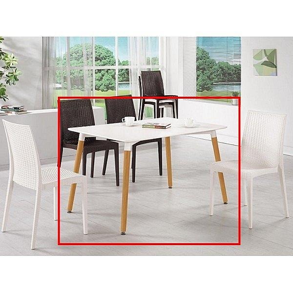 休閒桌椅 MK-1023-1 妮亞4尺休閒桌 【大眾家居舘】