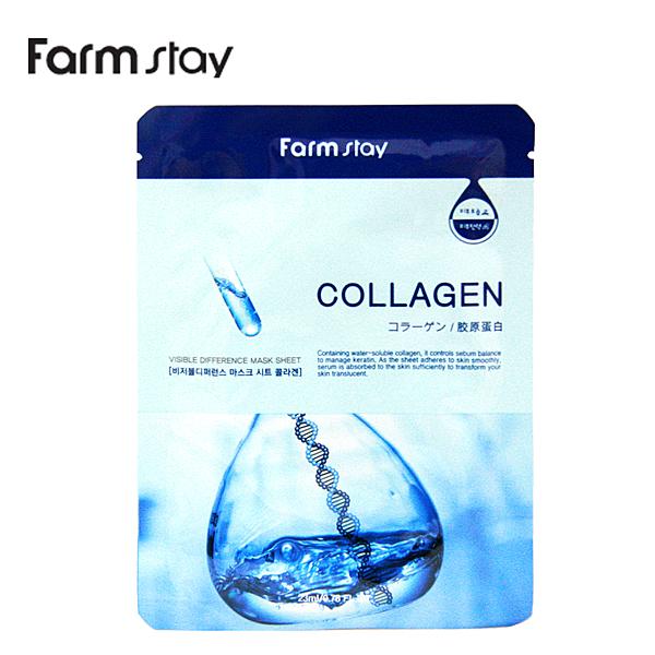 【韓國FarmStay】 膠原蛋白補水精華面膜