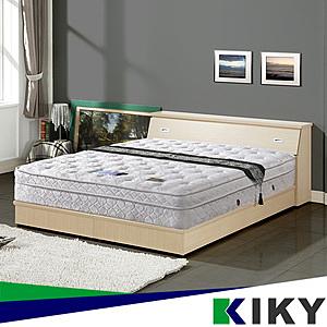 【KIKY】 二代德式療癒型舒眠護背彈簧床墊-單人加大3.5尺