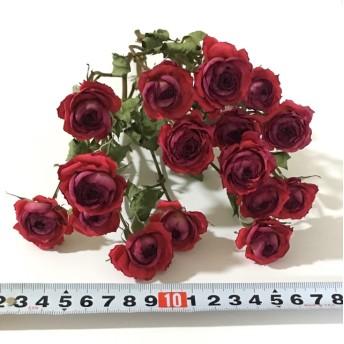 赤 薔薇 ドライフラワー