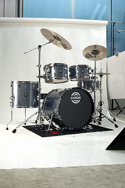 凱傑樂器 DIXON Sparkle 系列 (SPSET) 搭配 9290 (粗)腳架 註:不含套鈸