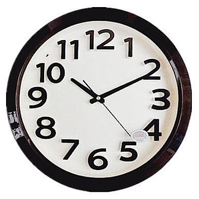 康巴絲14英寸靜音鐘表(珍珠灰)
