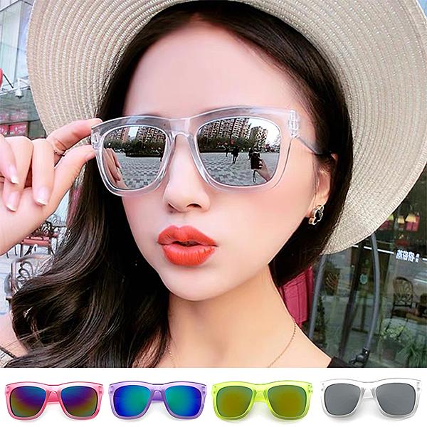 果凍墨鏡 素面太陽眼鏡 歐美時尚墨鏡 百搭款 100%抗UV400 台灣製造 檢驗合格