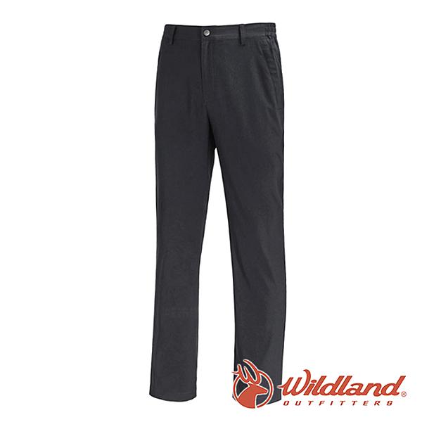 【wildland 荒野】男 日本紗彈性抗UV長褲『深霧灰』0A71302 戶外|登山|休閒|釣魚|彈性|抗紫外