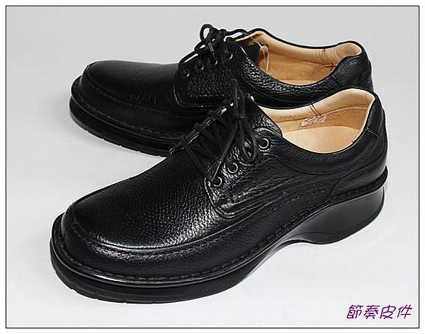 ~節奏皮件~☆型男皮鞋~~休閒鞋款  編號 8685 (黑)