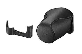 SONY 專為 α7 / α7R / α7S 而設計的真皮軟質相機套 LCS-ELCC 適用於:SEL1635Z、SEL2470Z、SEL2870