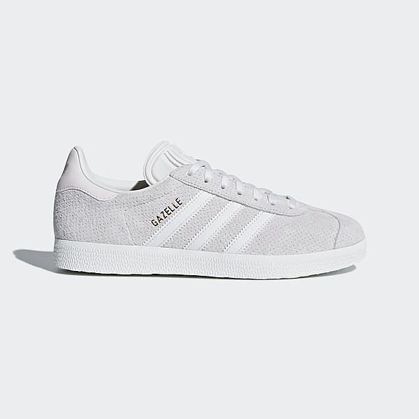 Adidas Originals Gazelle W [CQ2183] 女鞋 休閒 經典 復古 簡約 百搭 愛迪達 灰