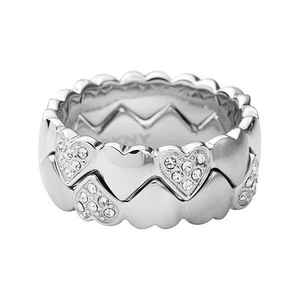 DKNY 心冠晶鑽戒指
