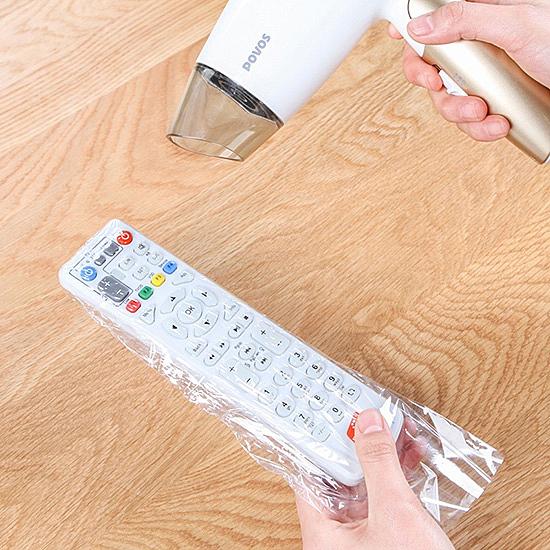 遙控器 保護膜 (5入) 透明 日本外銷 收縮膜 可裁剪 防塵 防水 熱收縮 密封套 保護貼【P182】生活家