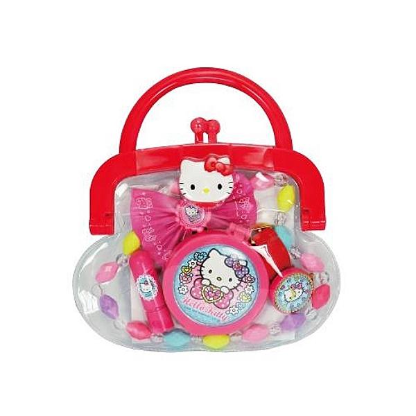 【震撼精品百貨】Hello Kitty 凱蒂貓~凱蒂貓 HELLO KITTY 手提玩具(飾品組)#00389