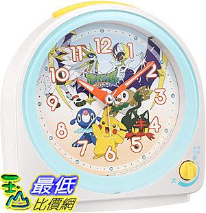 [8東京直購] SEIKO 精工 桌上型鬧鐘 CQ149W 神奇寶貝 精靈寶可夢 Pokemon
