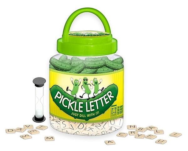 『高雄龐奇桌遊』 酸黃瓜字母配對遊戲 Pickle Letter 附中文說明書 正版桌上遊戲專賣店