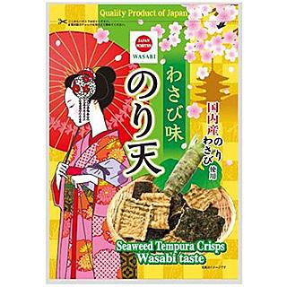 【美佐子MISAKO】日韓食材系列-完果 芥末海苔天婦羅 125g