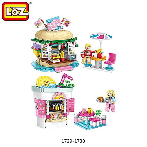 摩比小兔~LOZ mini 鑽石積木-1729-1730 樂園系列 #3 腦力激盪 益智玩具 鑽石積木 積木 親子