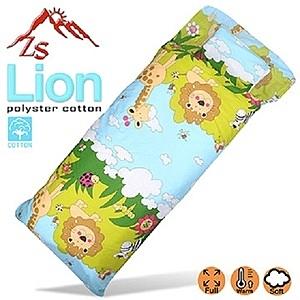 ZS Lion 兒童保溫纖維棉睡袋 (可拆內胎)