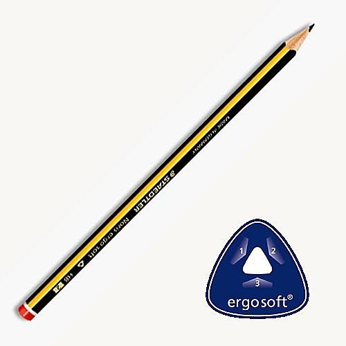 德國施德樓STAEDTLER/三角型2mm-全美黃桿鉛筆加寬型/MS152/HB