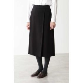 ◆フェイクウールスカート クロ