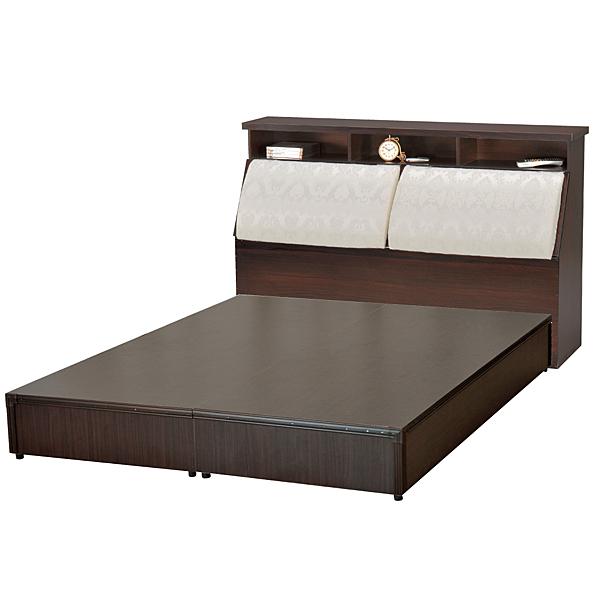 【采桔家居】馬比 時尚6尺皮革雙人加大床台組合(不含床墊)