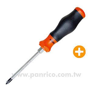 十字專業級複合式螺絲起子(螺絲批/螺絲刀) #0x75mm長 ~重力型 可使用扳手輔助加強扭力