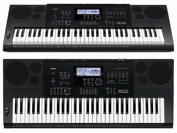 ☆唐尼樂器︵☆ CASIO 卡西歐 CTK-6200 61鍵電子琴(全新高階琴款,加贈琴袋/大延音踏板等超值配件)
