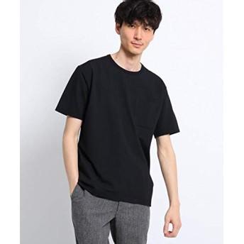 (タケオキクチ) TAKEO KIKUCHI シアサッカー ポケット Tシャツ 07036039 02(M) ブラック(019)