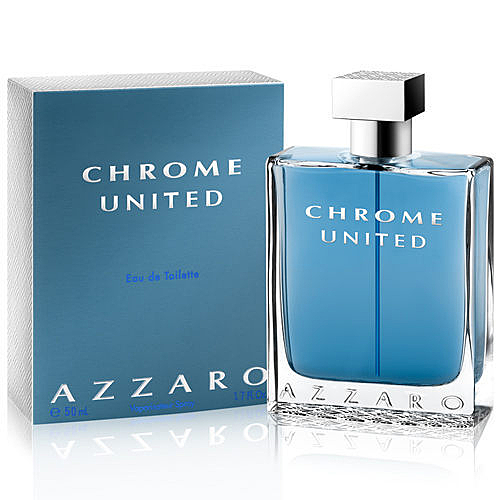 AZZARO Chrome United 酷藍唯我男性淡香水 30ml 【七三七香水精品坊】