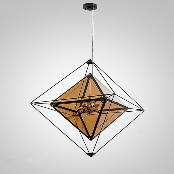 玻璃立方吊燈大號(OTJIC-00045/OTJIC-00046)【DD House】