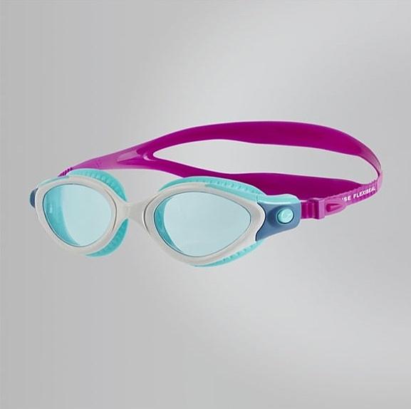【線上體育】speedo 成人女用運動泳鏡 Futura Biofuse 藍紫 SD811314B978