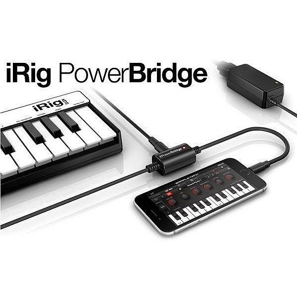 ☆唐尼樂器︵☆免運公司貨 IK iRig PowerBridge - iOS 錄音設備行動充電裝置/行動電源