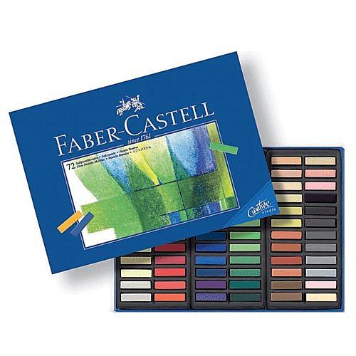 Faber-Castell軟性粉彩系列短型72色*128272