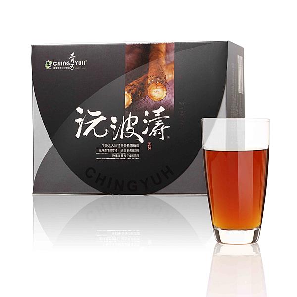 5盒送1小盒(620元商品) 限時特惠 青玉牛蒡茶 沅波濤牛蒡茶包(50入/盒)