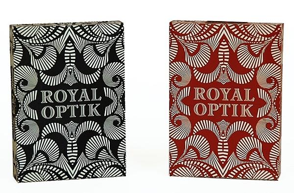【USPCC 撲克】ROYAL OPTIK Playing cards BLACK/RED