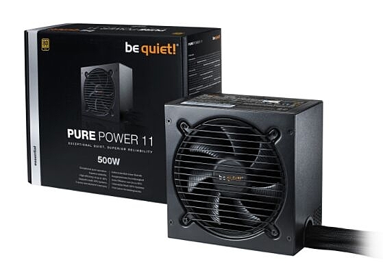 be quiet! BQT PURE POWER 11 500W 80+金牌 電源供應器