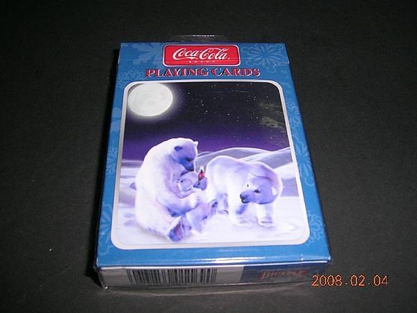 【USPCC撲克館】可樂北極熊撲克牌-月亮版