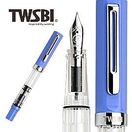 台灣 三文堂鋼筆 TWSBI ECO 淡藍M