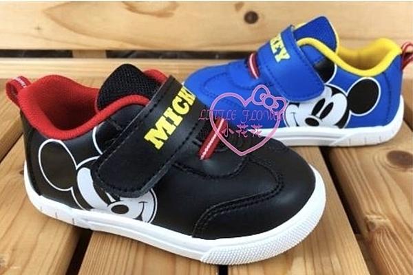 ♥小花花日本精品♥迪士尼米奇頭造型小板鞋休閒鞋平底鞋好穿止滑藍色款預購118604