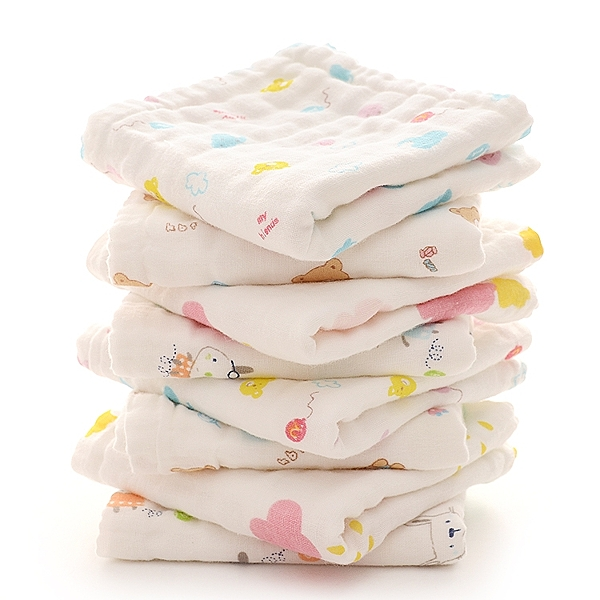 大毛巾寶寶洗澡巾新生兒童洗臉面巾厚長方形超柔吸水【快速出貨】