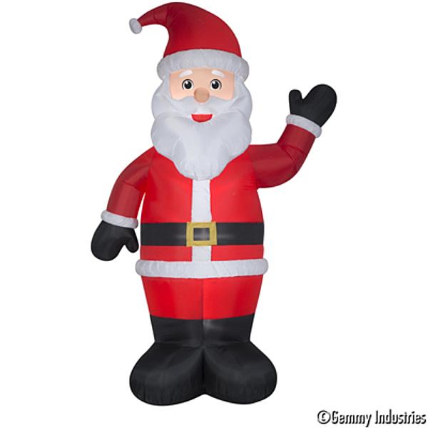 10尺充氣聖誕老公,聖誕佈置/充氣擺飾好收納/聖誕充氣,節慶王【X007918】