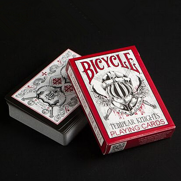 【USPCC 撲克】Bicycle templar knights騎士撲克牌