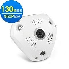 aibo IPVR2 360度環景 無線網路攝影機(130萬畫素/960P解析)
