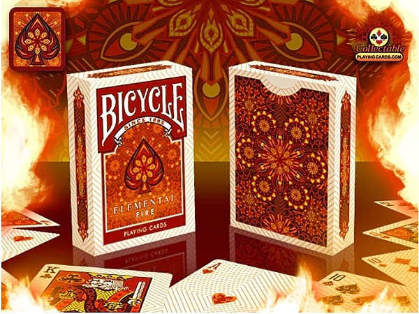 【USPCC撲克】BICYCLE ELEMENTAL FIRE Playing Cards