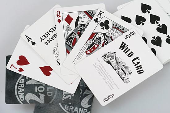 【USPCC撲克館】美國傑克丹尼爾 黑色商標撲克牌