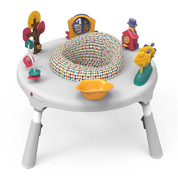 【預購-預計5月底陸續出貨】新加坡ORIBEL 成長型遊戲中心/遊戲桌(不含椅凳) 白色