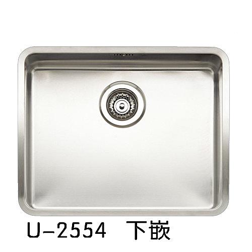 【歐雅系統家具】REGINOX 荷蘭皇冠水槽 U-2554 下嵌