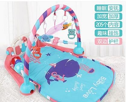 嬰兒健身架腳踏鋼琴健身架嬰兒玩具0-1歲新生兒童男寶寶女孩3-6-12個月0益智 JD寶貝計畫 上新