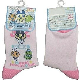 【波克貓哈日網】日本授權卡通童襪◇TAMAGOTCH'S◇《19~21cm》粉紅色~~日本製