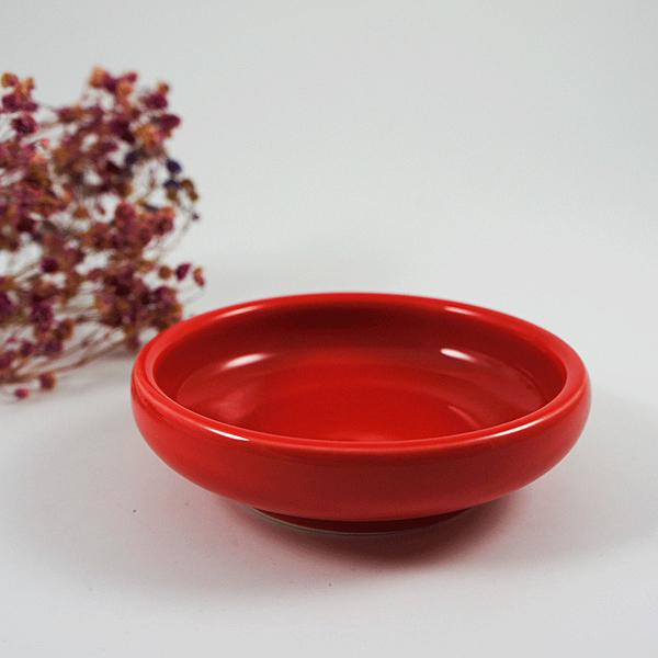 婚慶小碟陶瓷紅色小碟子調味碟醬料碟醬油碟醋碟創意餐具小吃涼菜碟