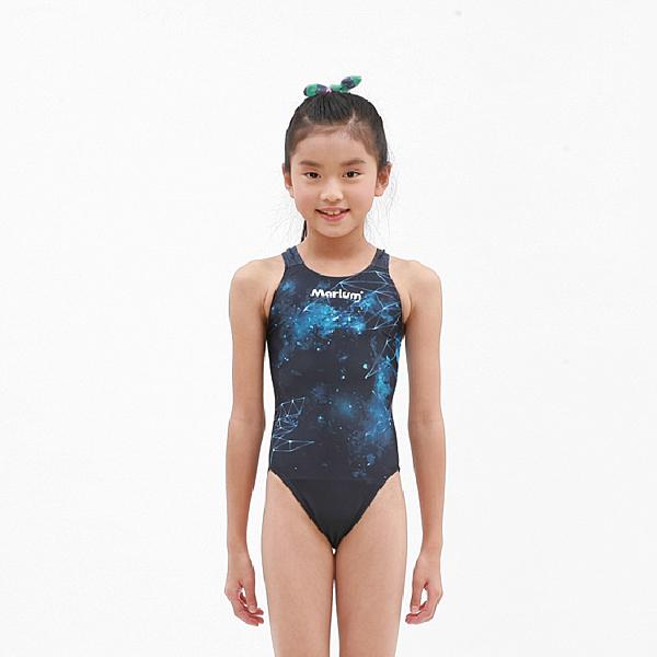 MARIUM小女競賽型泳裝 - 星空鯊魚 MAR-19003WJ