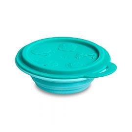 【加拿大MARCUS&MARCUS 】動物樂園矽膠摺疊碗/餐碗-大象