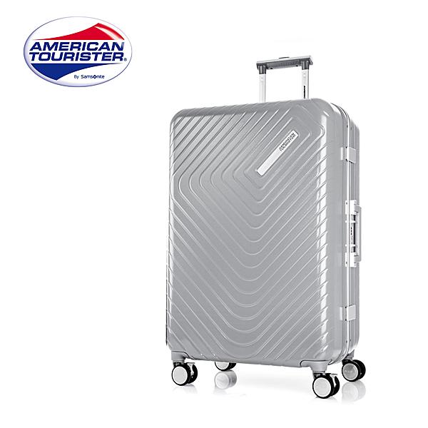 AMERICAN TOURISTER 美國旅行者【Esquino GN1】28吋鋁框行李箱 推薦 煞車 雙軌輪 頂級 精緻內裝